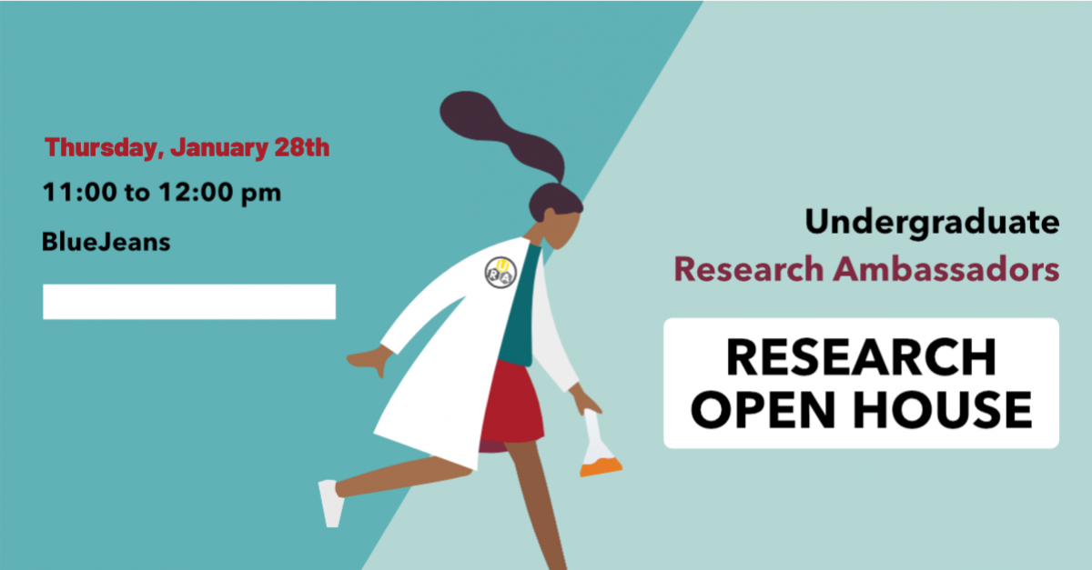 URA Spring Research Open House - Thursday, January 28th via bluejeans from 11-12