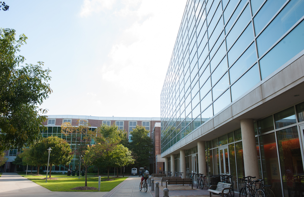 Image of a building in the BioTech quad.